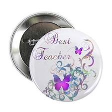"""Best Teacher 2.25"""" Button (100 pack)"""