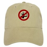 Funny NO Smoking Alcohol Sign Baseball Cap