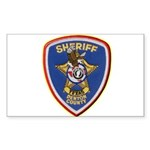 Denton County Sheriff Sticker (Rectangle 10 pk)