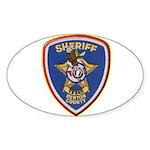 Denton County Sheriff Sticker (Oval 10 pk)