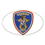 Denton County Sheriff Sticker (Oval)