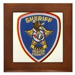 Denton County Sheriff Framed Tile