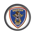 Denton County Sheriff Wall Clock