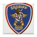 Denton County Sheriff Tile Coaster