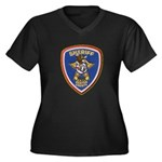 Denton County Sheriff Women's Plus Size V-Neck Dar