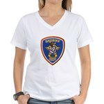 Denton County Sheriff Women's V-Neck T-Shirt