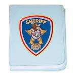 Denton County Sheriff baby blanket