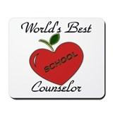 Cool School and education Mousepad