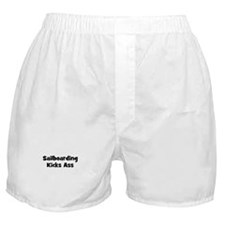 Sailboarding Kicks Ass Boxer Shorts
