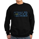 Out of My Vulcan Mind Sweatshirt (dark)
