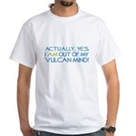 Out of My Vulcan Mind White T-Shirt