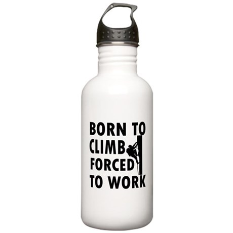 Born to Climb Stainless Water Bottle 1.0L