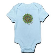 Buddhism Mandala n4 Infant Bodysuit