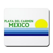 Cute Playa del carmen Mousepad