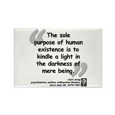 Jung Purpose Quote Rectangle Magnet (10 pack)