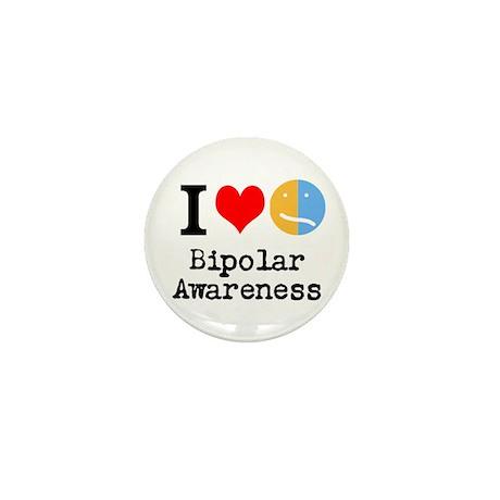I <3 Bipolar Mini Button (10 pack)