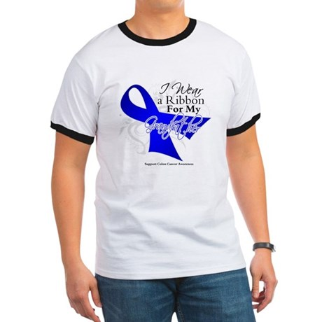 Grandfather Colon Cancer Ringer T