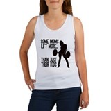 Moms lift more.... Women's Tank Top