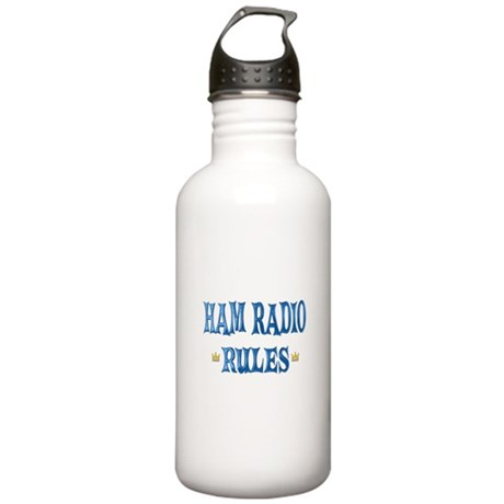 Ham Radio Rules Stainless Water Bottle 1.0L
