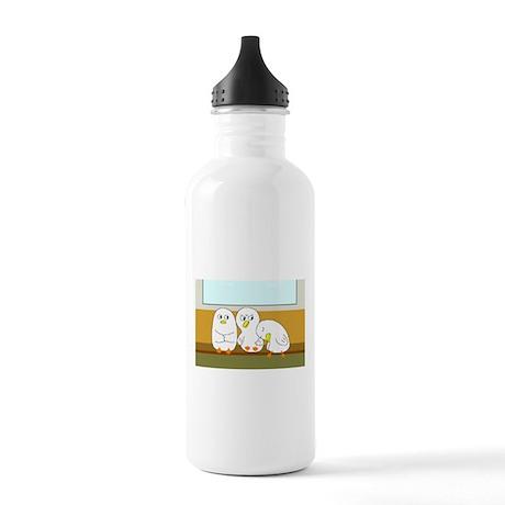Tired Passenger Stainless Water Bottle 1.0L