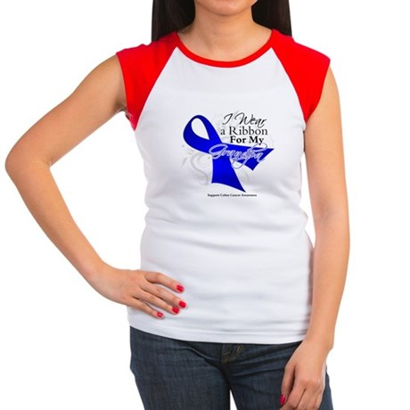 Grandpa Colon Cancer Women's Cap Sleeve T-Shirt