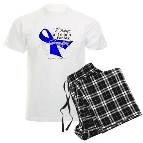 Grandpa Colon Cancer Men's Light Pajamas