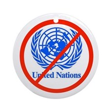 UN OUT OF US Ornament (Round)