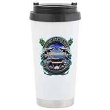 US Navy Carrier Underway Anch Ceramic Travel Mug