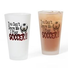 Soccer - No Fear Drinking Glass