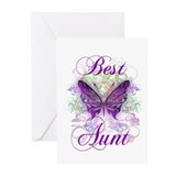 Best Aunt Greeting Cards (Pk of 10)