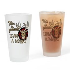 This is Gonna Leave a Mark Deer Hu Drinking Glass