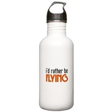 I'd rather be flying Water Bottle