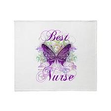 Best Nurse Throw Blanket