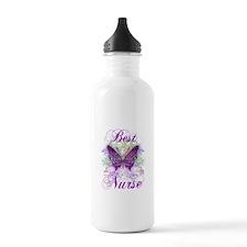 Best Nurse Sports Water Bottle