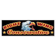 Right Wing Conservative Bumper Sticker