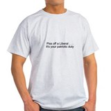 Funny Anti politics T-Shirt
