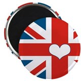"union jack love 2.25"" Magnet (10 pack)"