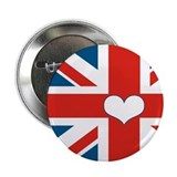 "union jack love 2.25"" Button (10 pack)"
