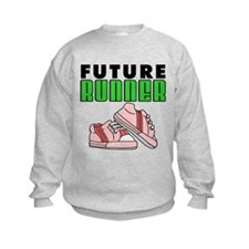 Future Girl Runner Sweatshirt