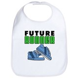 Future Runner Boy Bib