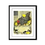 Mother Hen Framed Panel Print