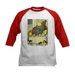 Mother Hen Kids Baseball Jersey