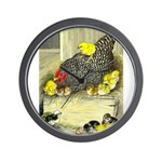 Mother Hen Wall Clock
