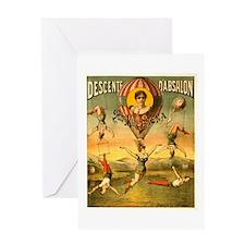 Descente D'Absalon Greeting Card