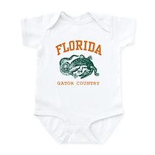 Florida Gator Country Infant Creeper