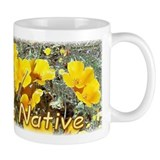 """California Native"" Poppy mug"