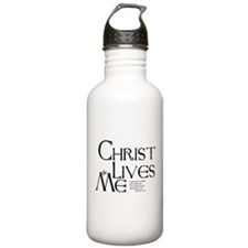 Christ Lives in Me Water Bottle