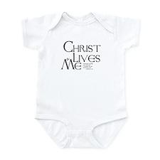 Christ Lives in Me Infant Bodysuit