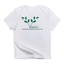 Cute Vegan baby Infant T-Shirt