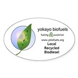 Yokayo Biodiesel Decal